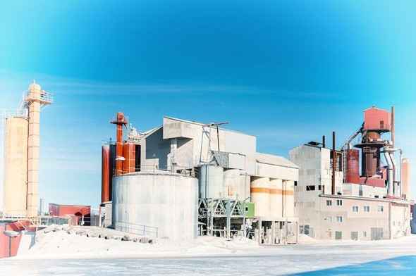 Заброшенный завод вблизи известнякового карьера. Изображение № 57.