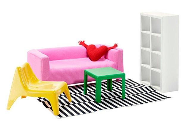 IKEA выпустит мебель для кукольных домиков. Изображение № 3.