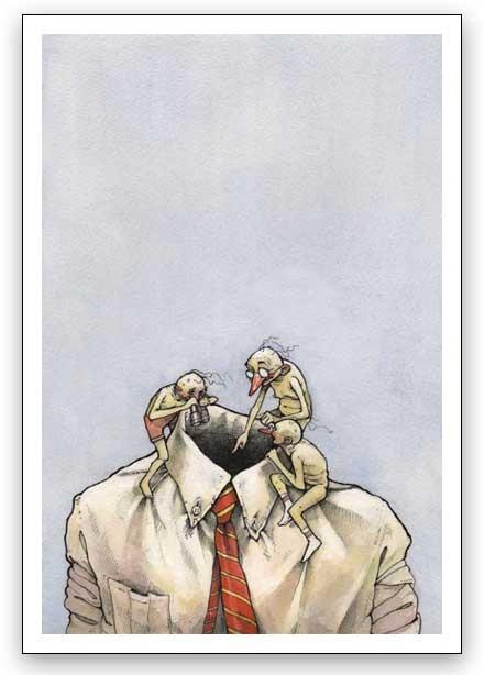 Watercolor humour. Изображение № 15.