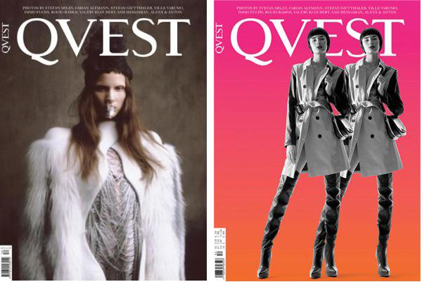 Новые обложки Numero, Tush, D, Quest и Interview. Изображение № 6.