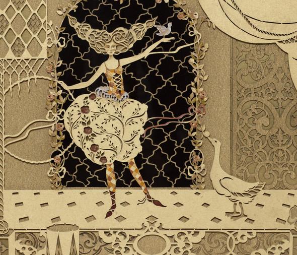 Ручная набойка по ткани: Е.А.Шнайдер и Н.Чурбакова. Изображение № 16.