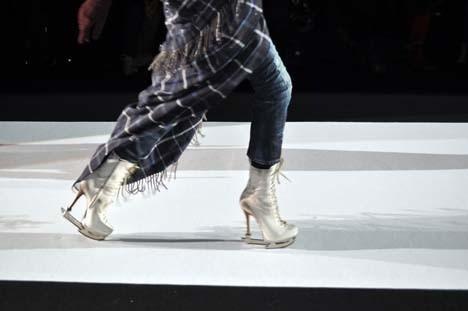 Изображение 2. Обувь - коньки от Dsquared2.. Изображение № 2.