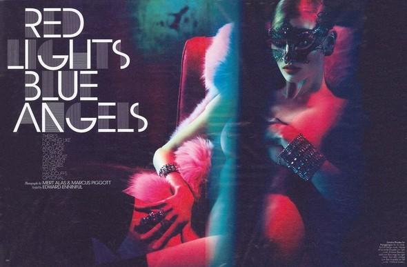 Съемка: Лара Стоун в объективе Мерта Аласа и Маркуса Пигго. Изображение № 1.