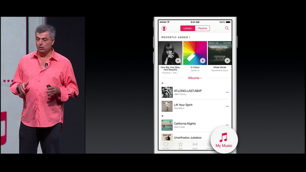 На WWDC представили потоковый сервис Apple Musiс. Изображение № 8.