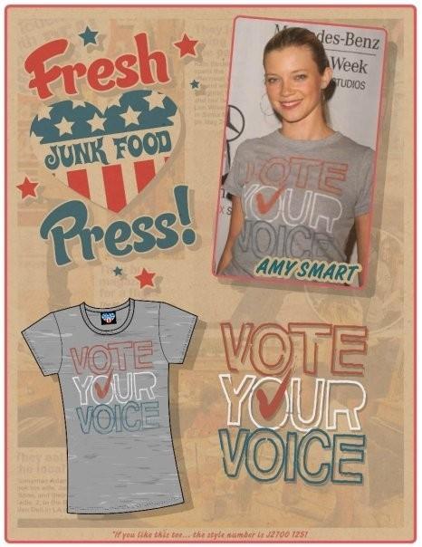 Звездные футболки Junk Food. Изображение № 4.