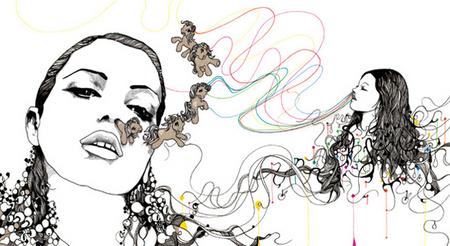 Иллюстрации Дэйвида Брэя грация исексуальный подтекст. Изображение № 1.