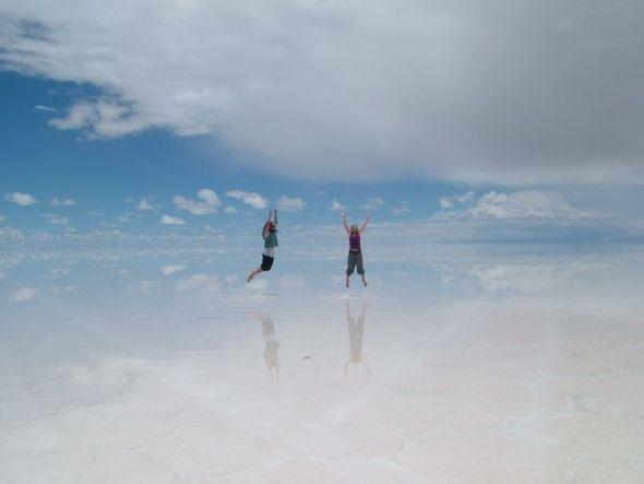 Изображение 7. Зеркало Земли - озеро Salar de Uyuni.. Изображение № 2.