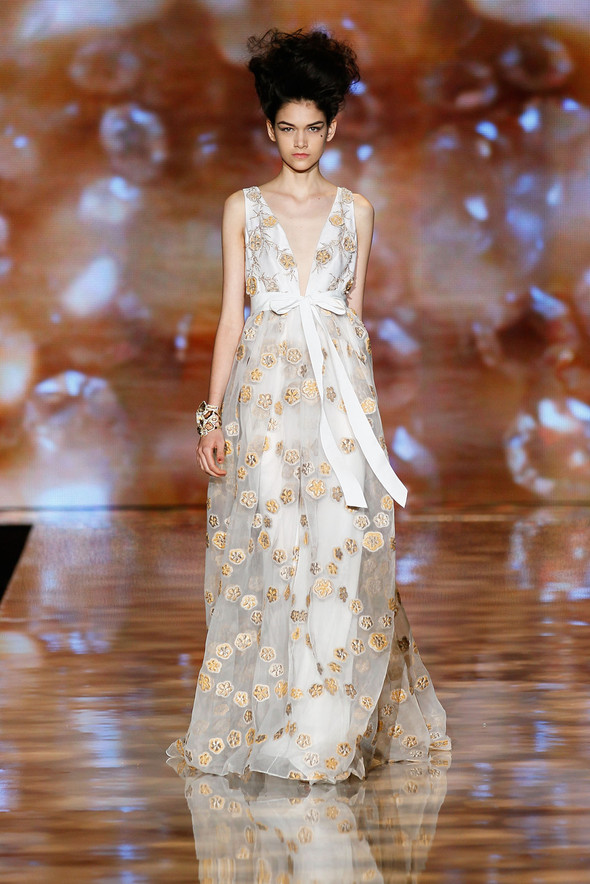 New York Fashion Week: Badgley Mischka Spring 2012. Изображение № 14.