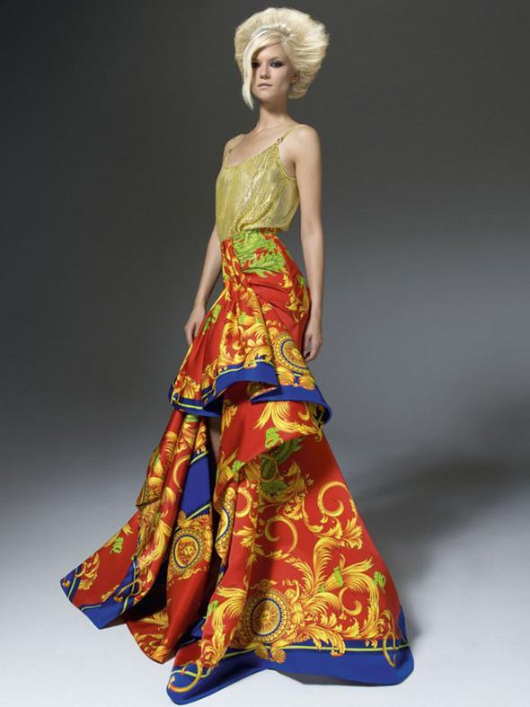 Лукбук: Atelier Versace FW 2011. Изображение № 7.