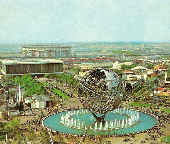 Международная нью-йоркская выставка 1964 года — прикрытие для места высадки НЛО. Изображение №18.