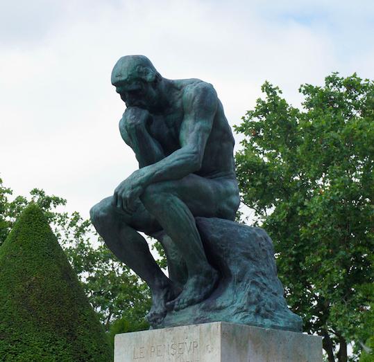 «Мыслитель» Огюста Родена. Изображение № 7.