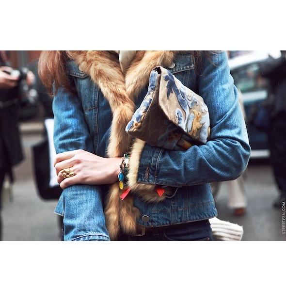 Изображение 111. На полях: 10 тенденций уличного стиля с прошедших недель моды.. Изображение № 111.