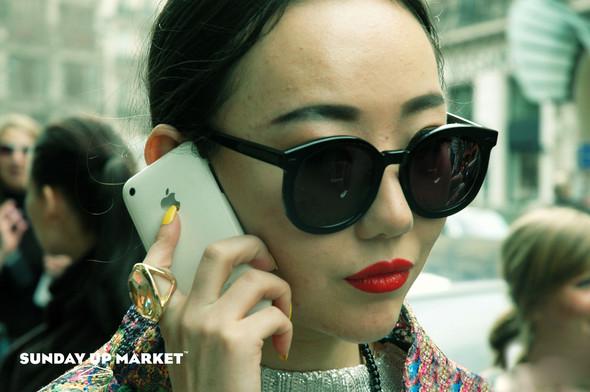 Sunday Up Market на неделе моды в Париже: streetstyle. Изображение № 11.