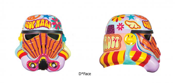 Современные художники переосмыслили шлем штурмовика. Изображение № 4.