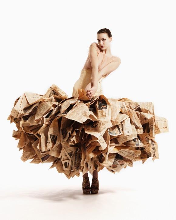 Одежда из мусора от Gary Harvey. Изображение № 5.