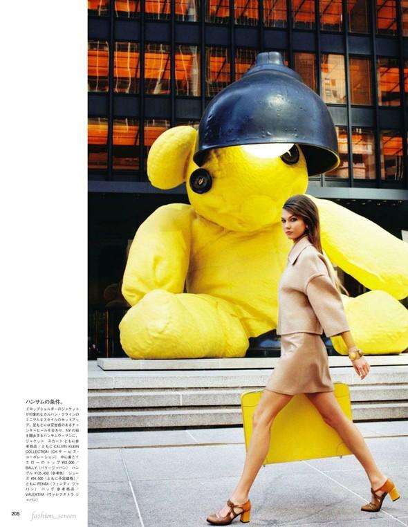 Съёмка: Карли Клосс для японского Vogue. Изображение № 2.