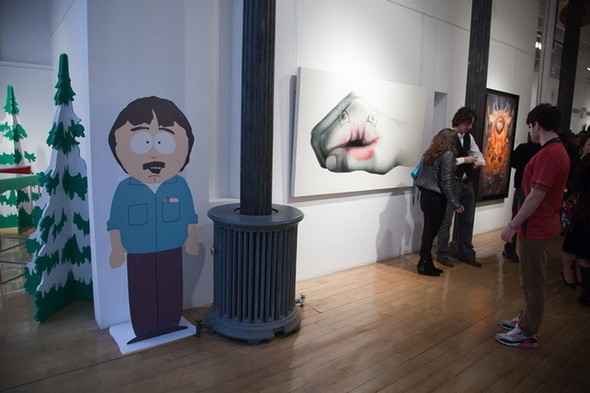 Выставка Рона Инглиша в честь South Park. Изображение № 4.