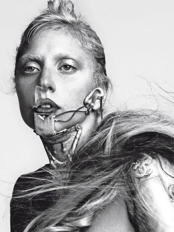 Съёмка: Леди Гага для Vogue. Изображение № 8.