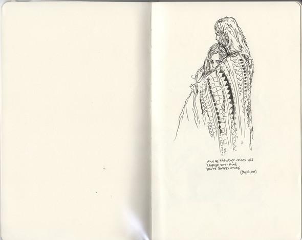 В тонких и резких штрихах: не повседневные иллюстрации. Изображение № 9.