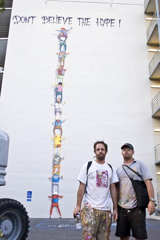 Граффити художники Os Gmeos о творческом пути. Изображение № 1.