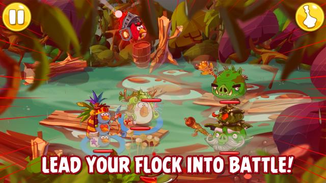 Новая Angry Birds будет пошаговой ролевой игрой . Изображение № 2.