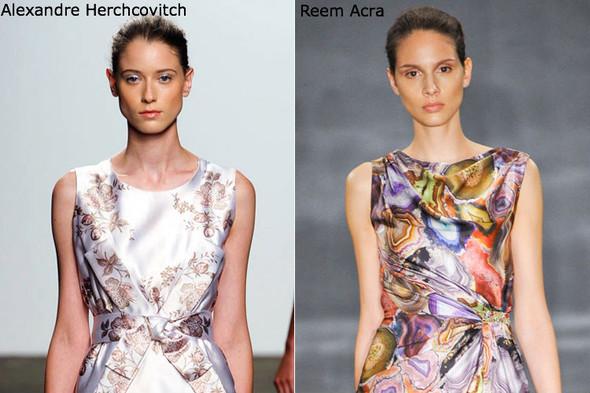 Модные причеси с показов NYFW весна-лето 2012. Изображение № 9.
