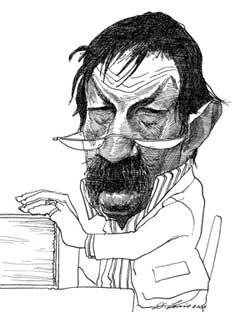 Карикатуры на писателей. Изображение № 61.
