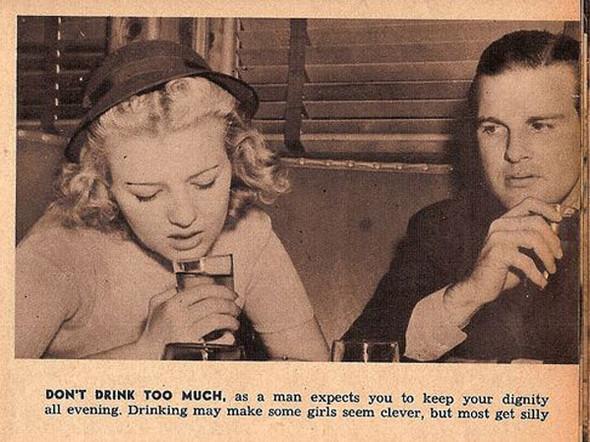 Как завоевать мужчину, вырезки из журнала 1938 года. Изображение № 11.