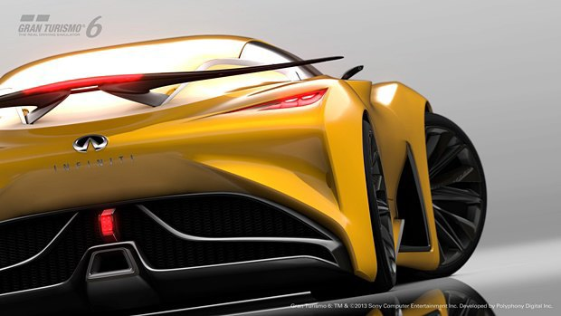 Концепт: суперкар Infiniti для игры Gran Turismo. Изображение № 29.
