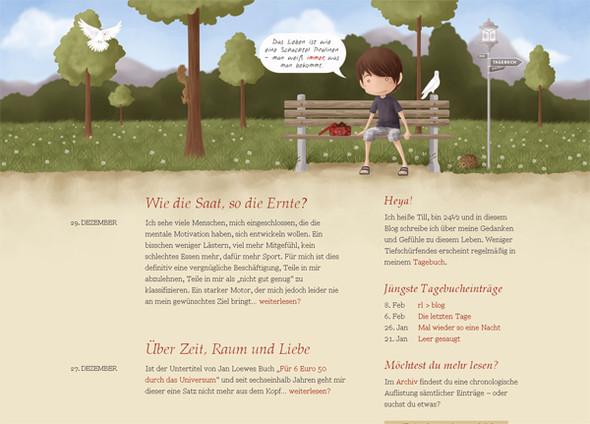 Персонажи в дизайне сайтов. Изображение № 25.
