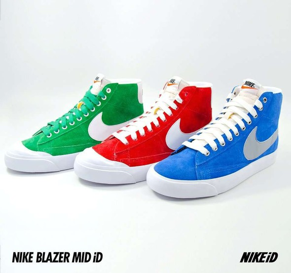 Nike X Liberty Summer Collection/  Blazer Mid iD.. Изображение № 25.