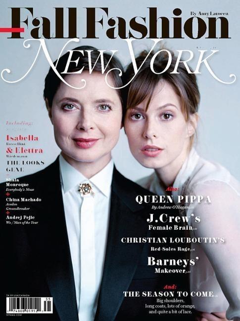 Обложки: Harper's Bazaar, Interview, New York Magazine и другие. Изображение № 7.