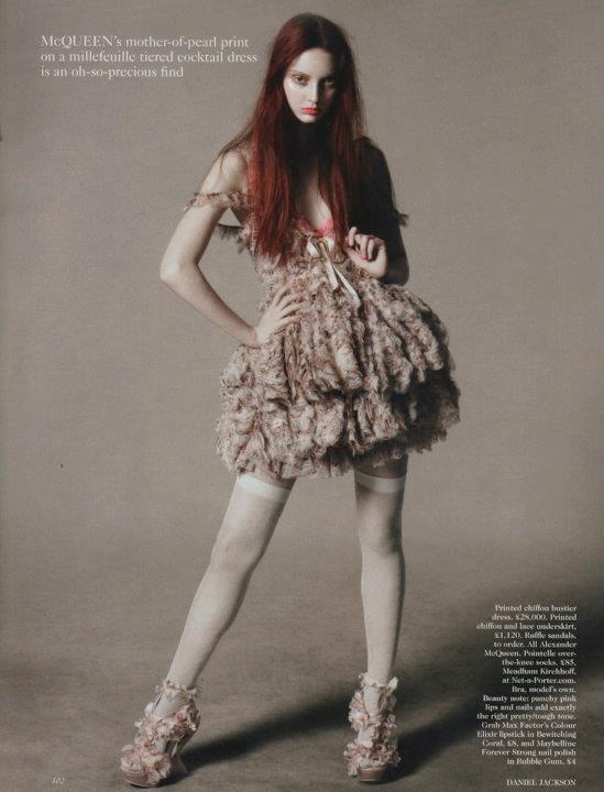 Съёмка: Дэниел Джексон для британского Vogue. Изображение № 10.