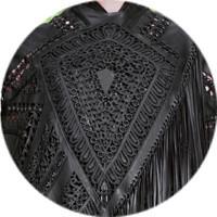 Кутюр в деталях: Маски, бисер и кожа в коллекции Givenchy. Изображение № 5.