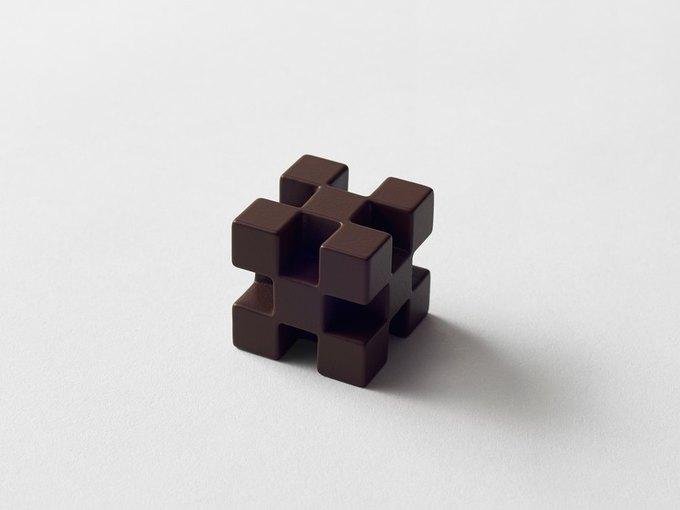 Дизайнеры Nendo разработали шоколад с разными текстурами. Изображение № 6.