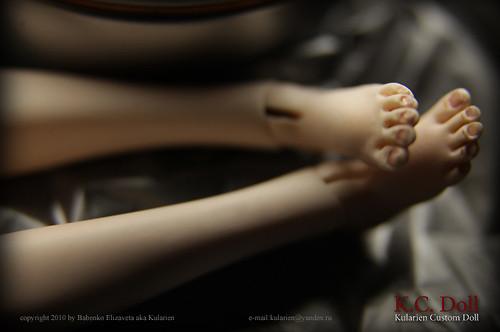 K.C.Doll. Миниатюра на шарнирах. Изображение № 17.