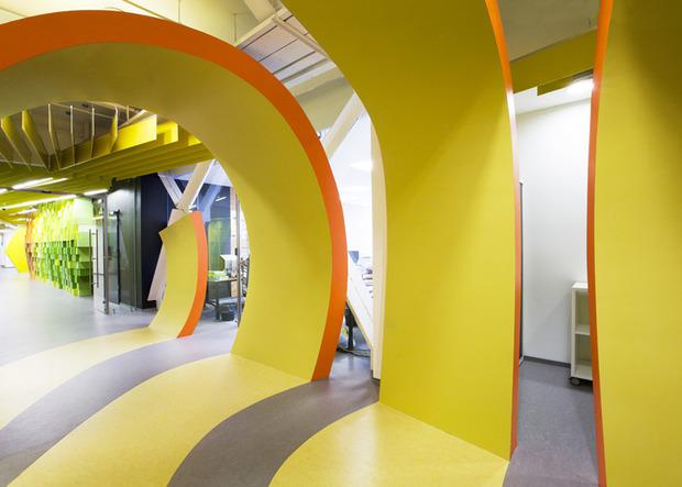 Появились фотографии нового офиса «Яндекса» в Санкт-Петербурге. Изображение № 7.