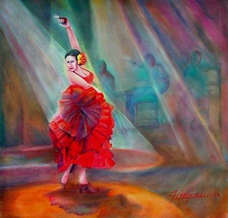 Lisa Fittipaldi - слепой художник. Изображение № 2.