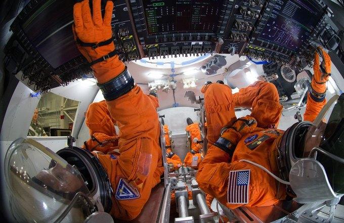 NASA решило отложить первый пилотируемый полёт Orion. Изображение № 1.