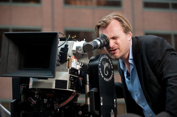 Кристофер Нолан на съемках «Темного рыцаря». Изображение № 1.