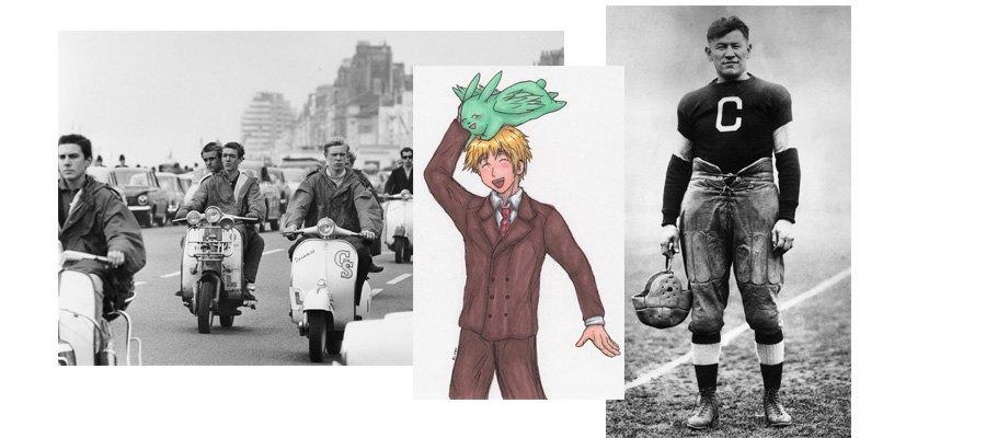 Моды, спорт, британские джентельмены. Изображение № 18.