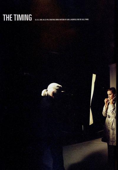 Карл Лагерфельд снял Эмму Уотсон дляжурнала Crush. Изображение № 2.