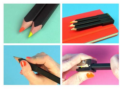 Главное подчеркнуть: флуоресцентные карандаши Moleskine. Изображение № 3.