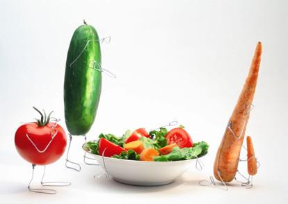 Terry Border иего ожившие овощи. Изображение № 3.