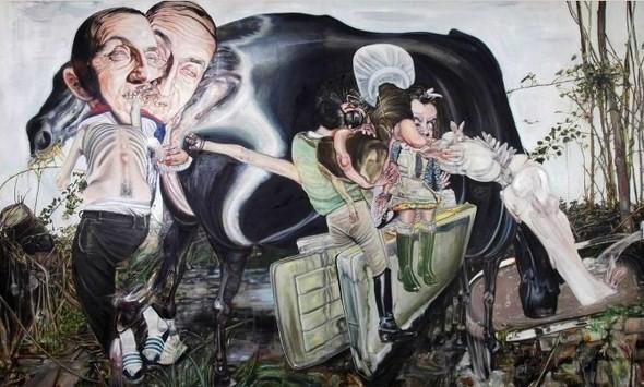 """""""Искусство расширенного сознания"""" в полотнах швейцарского художника. Изображение № 7."""