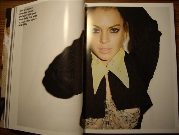 Линдси Лохан для Purple Fashion Magazine (продолжение). Изображение № 15.