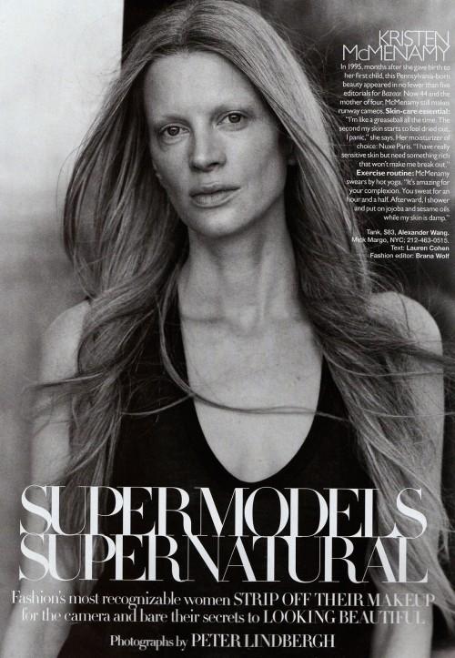 Harper Bazaar USпоказал фотомоделей безмакияжа. Изображение № 5.