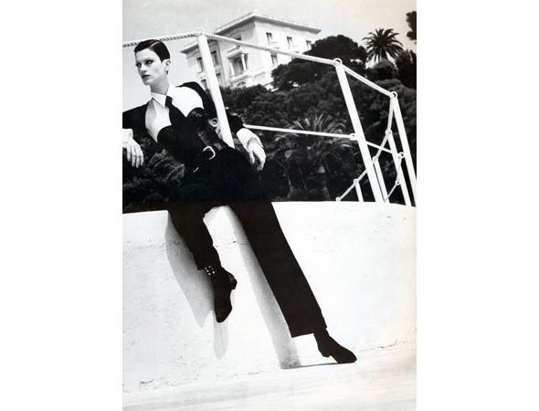 Надя Ауэрманн в американском Vogue, сентябрь 1992. Изображение № 35.