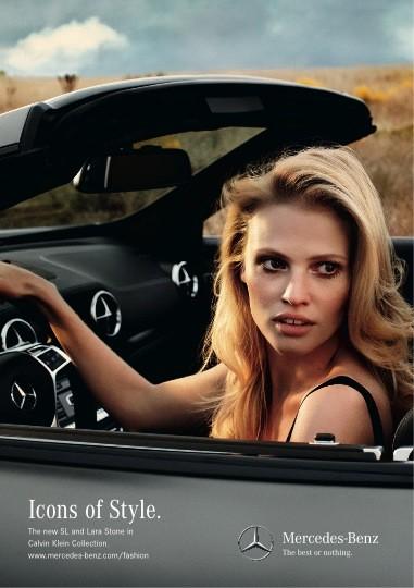 Супермодель Лара Стоун стала новым лицом Mercedes-Benz. Изображение № 2.