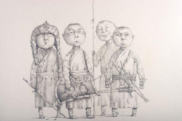 Галерея «Ханхалаев». Зорикто Доржиев иИрина Нараева. Изображение № 14.